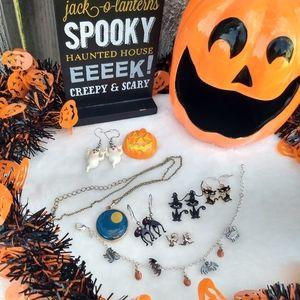 🎃8-Piece!🦇Avon Halloween Jewelry Lot